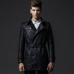 2015 new rushed motorcycle fashion giacca da uomo pu giacche in pelle lavata…