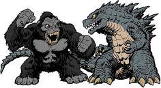 Godzilla Vs Kong 2020 Comparison Sizes by leivbjerga on DeviantArt Godzilla Suit, Godzilla Party, Godzilla Birthday Party, Godzilla Vs King Ghidorah, King Kong Vs Godzilla, Japanese Monster, Monster Concept Art, Cultura Pop, Animes Wallpapers