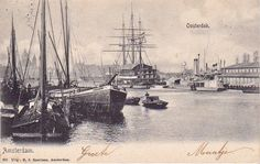 Amsterdam Oosterdok schepen 1905