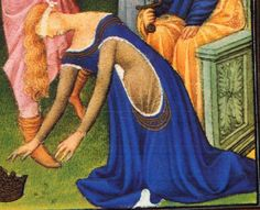From Belles Heures (an early 15th c illuminated manuscript bok of hours)