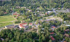 Iittala village - aerial picture by Vastavalo