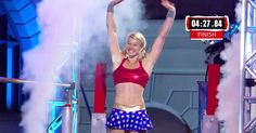 'Supergirl' stuntwoman Jessie Graff amazed fans when she demolished the qualifying course on 'American Ninja Warrior' on Wednesday, June 1, while dressed as Wonder Woman — read more