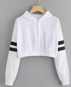 Cat Ear Casual Comfort Solid Long Sleeve Hoodie Sweatshirt Hooded Pullover Tops Roupas Color white Size S Teen Fashion Outfits, Outfits For Teens, Trendy Outfits, Punk Fashion, Lolita Fashion, Ladies Fashion, Summer Outfits, Fashion Dresses, Cute Comfy Outfits