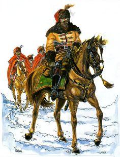 Croatian Cavalrymen, 1618-1648:
