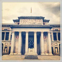 Museo Nacional del Prado w Madrid, Madrid. Obcowanie ze sztuką - zawsze wskazane. Będąc w Madrycie, nie ominę tego miejsca! :3