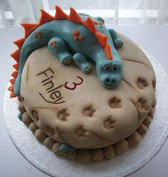 dinosaur cake 1 | Flickr - Photo Sharing!