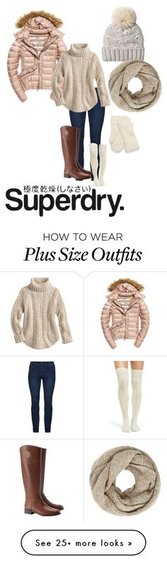 """""""The Cover Up – Jackets by Superdry: Contest Entry"""" by katybaby17 on Polyvore featuring Fuji, Woolrich, John Lewis, Tory Burch, UGG, Superdry and Winter"""