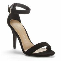 ca1c185a1b2f LC Lauren Conrad Strappy Dress High Heels - Women. Kohl s