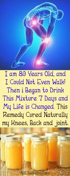 Iam 80 Years Old, and I Could Not Even Walk! Then i Began to Drink This Mixture 7 Days and My Life is Changed. This Remedy Cured Naturally my Knees, Back and joint. #health 3beauty #joint #pain #grand