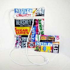 A sweet little bag and wallet set, perfect for teens!   wouldn't this be cute?   A lot of candy needs to be eaten