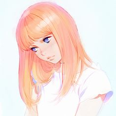 Rufous by Kuvshinov-Ilya on DeviantArt Art Anime, Anime Kunst, Cartoon Kunst, Cartoon Art, Character Inspiration, Character Art, Kuvshinov Ilya, Anime Lindo, Manga Girl