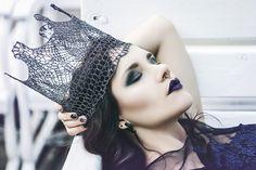 Make up: Marta Buchholz Photo: Madame Dentelle Model: Ola Jabłońska / La Lunarelle