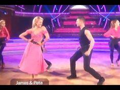 DWTS 18 WEEK 6 : James Maslow & Peta - Quickstep - Dancing With The Stars 18 Episode 6 (April 21st)