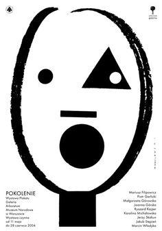 Mieczyslaw Wasilewski, Pokolenie plakat wystawowy, 2003