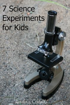 7 Science Activities for Preschoolers: Kid's Co-op.  She's going to be a scientist one day.