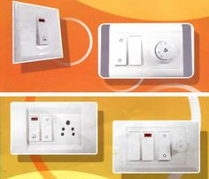Purchase Super Quality Electrical Switches Online: At the time of shifting or renovation of residential or official place, it is an important task to find a best online electrical shop which offer quality products at the lowest price. Electrical Shop, Electrical Switches, Electrical Supplies, One Light, Plugs, Construction, Building, Products, Electrical Breakers