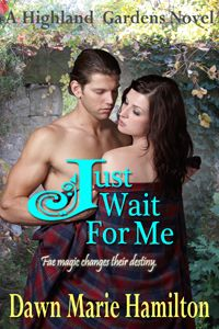 """Read """"Just Wait For Me"""" by Dawn Marie Hamilton available from Rakuten Kobo. The third match in the Fae Queen's challenge is in play. Will fae magic change Stephen and Jillian's destiny? Highlands Warrior, Love Time, Paranormal Romance, Wait For Me, Romance Books, Time Travel, Book 1, Dawn, Waiting"""
