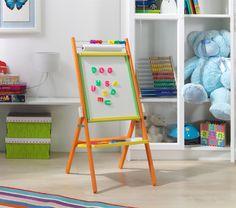 Otočná detská tabuľa - farebná Tabuľa je veľmi užitočnou názornou pomôckou, predovšetkým predškolákom a prváčikom, pri prvom kontakte s písmenkami.