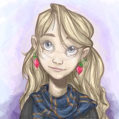 Little Loony by clarinking ||| Luna Lovegood, Harry Potter, Ravenclaw