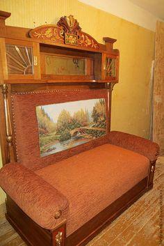 Купить Диван антикварный реставрированный.Мебель антикварная. - Мебель, антикварная мебель, кабинетный диван, диван
