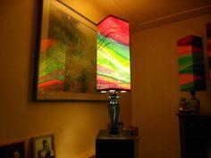 Strange Universe Art Lamps