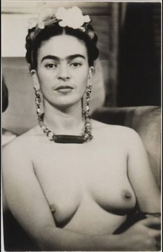 Fotografía de Frida Kahlo, de Julien Levy