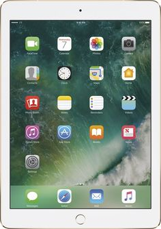 Apple - 9.7-Inch iPad Pro with Wi-Fi + Cellular - 256GB (At&t) - Gold, MLQ82LL/A