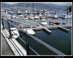 Puerto Lagoa, en la ciudad de Vigo-Pontevedra-España