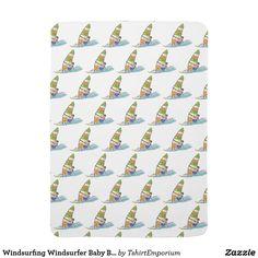Windsurfing Windsurfer Baby Blanket