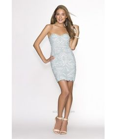 Glamorous and chic, this exciting cocktail dress  by SCALA