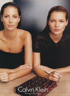supermodels that continue to make us dream~ Christy Turlington and Kate Moss~ still stunning. Vogue Korea, Vogue Spain, 90s Fashion, Trendy Fashion, High Fashion, Vintage Fashion, Kate Moss, Vintage Photography, Editorial Photography