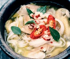 Find the recipe for Vietnamese Chicken Noodle Soup and other  recipes at Epicurious.com