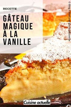 Le plus récent Images Gateau magique Concepts Desserts With Biscuits, Sugar Cake, Cake & Co, Blueberry Cake, Healthy Cake, Nom Nom, Cake Recipes, Caramel, Sweet Tooth