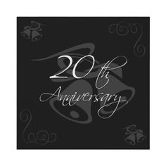Wedding Anniversary Coming up in October ❤️ Happy Anniversary To My Husband, 20th Wedding Anniversary Gifts, Happy Anniversary Wishes, 20 Year Anniversary, Wedding Anniversary Invitations, Anniversary Parties, Wedding Vowels, 20 Years Of Marriage, Renewing Vows