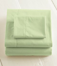 top rated sheets: 280-Thread-Count Pima Cotton Percale Sheet   Free Shipping at L.L.Bean
