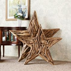 Natural Driftwood Branch Star Home Wall Decor - Large Garden Age Supply,http://www.amazon.com/dp/B00A4LW61G/ref=cm_sw_r_pi_dp_4Clitb1BCPS8XCC1
