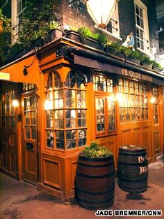 Ye Olde Mitre Tavern. One of the 10 oldest pubs in London.