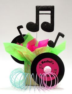 Rock & Roll Theme Party Centerpiece ideas   Awesome Events Blog