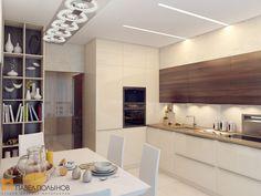 Дизайн интерьера кухни / kitchen / kitchen decor / kitchen idea / kitchen design / by Pevel Polinov Studio #design #interior #homedecor #interiordesign