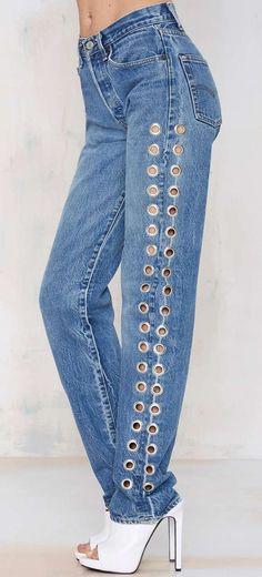 After Party Vintage Rebel Rebel Jeans