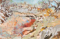 Luke Sciberras – West of the Darling, Works on paper Abstract Landscape Painting, Landscape Art, Landscape Paintings, Abstract Art, Australian Painters, Australian Artists, Kunst Online, Online Art, Art And Illustration