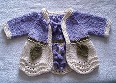 Ravelry: Flowertot Cardigan pattern by Andrea Craig    I made this for my grandniece in Knitpicks Comfy, She loves it!