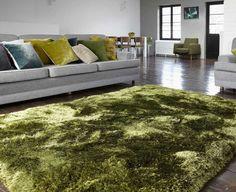 Plush Green Rugs | Modern Rugs