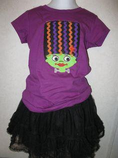 Halloween Bride of Frankenstein Monster Shirt by rowanmayfairs, $26.00
