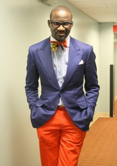 Love the use of color! Awesome! men's fashion