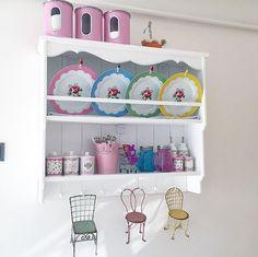 Mutfak, Terek Shabby Chic Kitchen, Vintage Kitchen, Kitchen Decor, Tiny House Living, Shabby Vintage, Painted Furniture, Sweet Home, Creations, New Homes