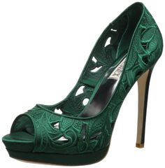 9f6a60cfb5167 Amazon.com  Badgley Mischka Women s Dacey Open-Toe Pump  Shoes