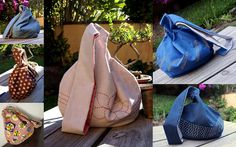 Bolsas de nudo japonesas | Japanese knot bags | Tutorial: http://wp.me/p2CikC-um | Gineceo, María Tenorio, 2015
