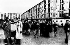 Drancy Transit Camp where Jews were held until deportation to the death camps.