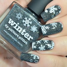 piCture pOlish = Winter Wonderland nail art created by Sveta Sanders WOW!!! www.picturepolish.com.au